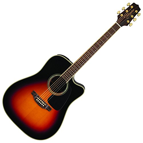 - Takamine 6 String Acoustic-Electric Guitar Right Handed, Sunburst GD51CE-BSB