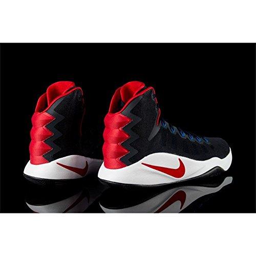 Nike Mens Hyperdunk 2016 Scarpe Da Basket Scuro Ossidiana / Brillante Rosso Cremisi