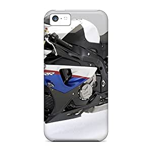 MXE4444bENi Snap On Cases Covers Skin For Iphone 5c(motorcycles Bmw S1000rr)