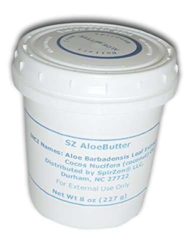 SZ Aloe Butter, 8 oz. For DIY (Halloween Makeup Cracked Lips)