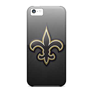 New Snap-on CassidyMunro Skin Cases Covers Compatible With Iphone 5c- New Orleans Saints