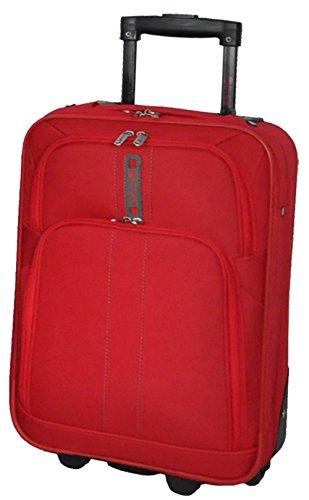 5 Cities – Juego de maletas  rojo 21′