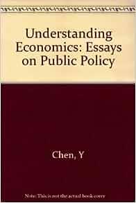Public policy essays