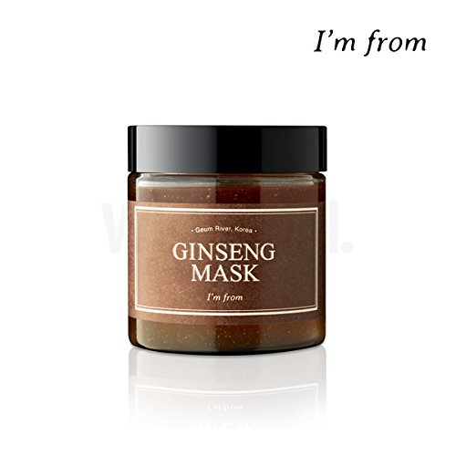[I'M FROM] Ginseng Mask,wash off mask, facial mask,120g