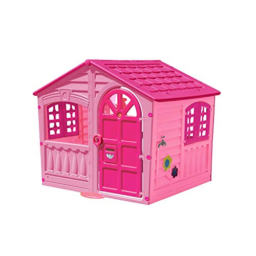 Palplay Colorful Fun House, Medium, Pink/Purple ()