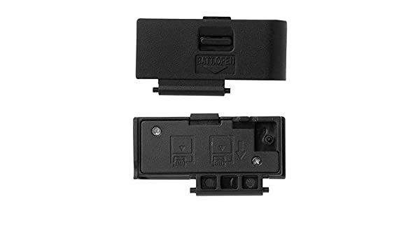 Shenligod Battery Door Cover Replacement Repair Lid Cap Part for Canon EOS 600D EOS Rebel T3i DSLR Digital Camera