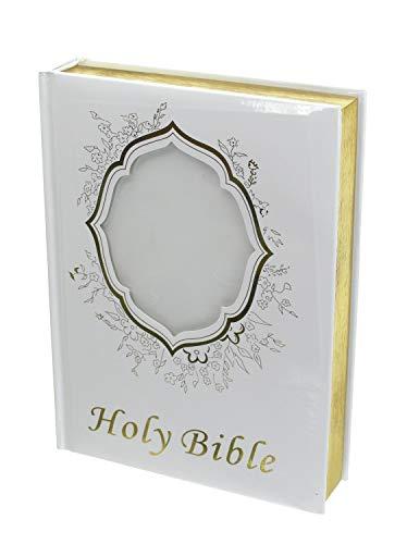 DivaDesigns Decorative Catholic Wedding Bible in English Version Gold Gilded - Large ()