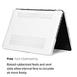 GMYLE Soft-Touch Hard Case Frosted for MacBook Pro 13 inch with CD-ROM (Model: A1278) - White Marble Pattern II