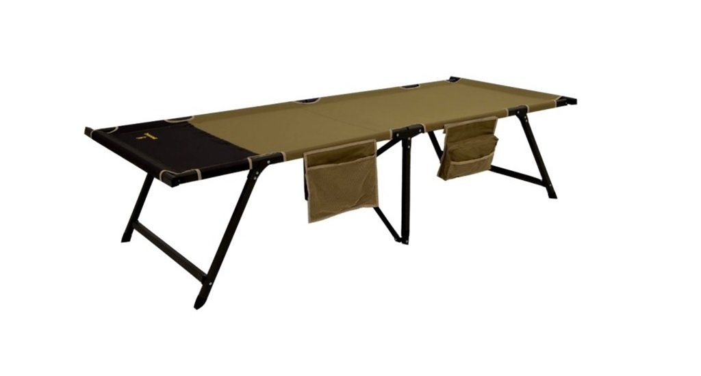 Browning Camping Titan Cot XP Large 30''x81''x19.5'' Khaki 8561114