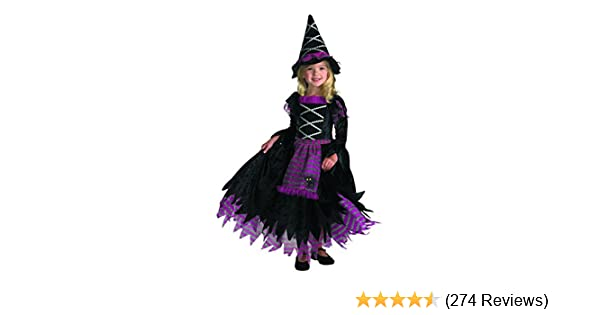 Amazon.com: Disguise Girls Fairytale Toddler Witch Costume: Clothing