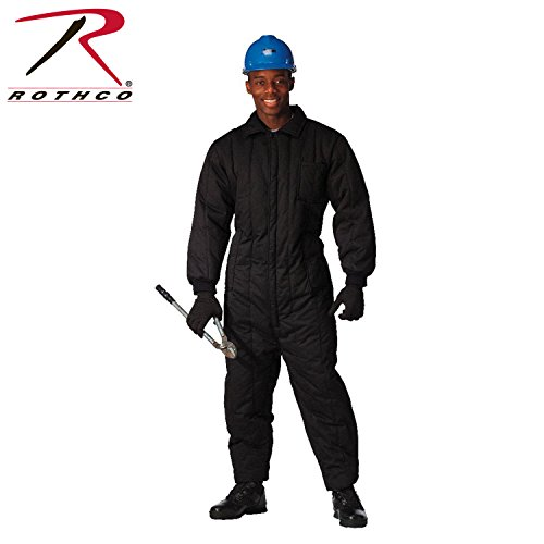 Rothco Insulated Coverall, Black, Large by Rothco