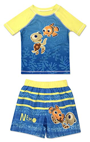 Dreamwave Infant Boy Finding Nemo Rash Guard Set 12 -