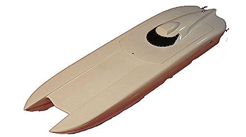 "35"" Rc R/c Ep Epoxy Fiberglass Twin Power Catamaran Cat Racing Boat Ship Kit"