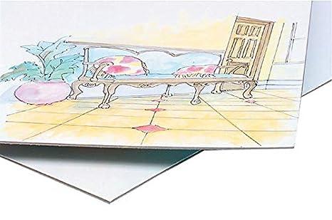 Crescent 20 Hot Press Medium-Weight Student Grade Illustration Board 15 X 20...