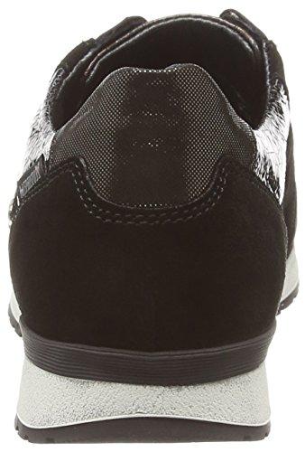 Mephisto NOEMIE VELSPORT 3600/14717/7000/2352 BLACK - zapatilla deportiva de cuero mujer negro - Schwarz (VELSPORT 3600/14717/7000/2352)