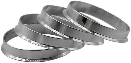 4pieces 60.1 to 66.1 Hub Centric Rings OD=66.1mm ID= 60.1mm Aluminium Wheel Hub Rings WYX-JIXIANQI