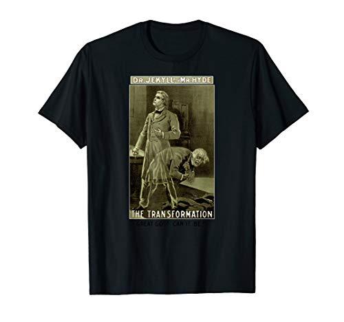 Classic Horror Story-Strange Case of Dr. Jekyll and Mr. Hyde T-Shirt (Dr Jekyll And Mr Hyde Cliff Notes)