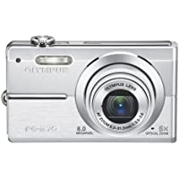 Olympus FE370 8MP Digital Camera with 5x Optical Dual Image Stabilized Zoom (Silver) Benefits Review Image