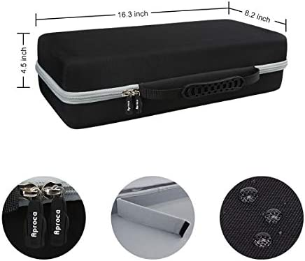 Aproca Hard Travel Storage Case Fit HP OfficeJet 250 All-in-One Portable Printer Wireless Mobile Printing CZ992A (Black) 41DQHBLbDZL