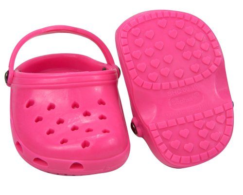 224c3836f698 1 Pair Hot Pink 18 Inch Doll Shoes fits American Girl Dolls ...