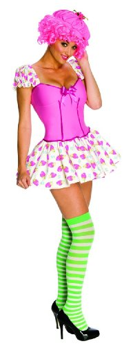 Secret Wishes Strawberry Shortcake Raspberry Tart Costume, Multi, Medium (Girls Blueberry Muffin Wig)