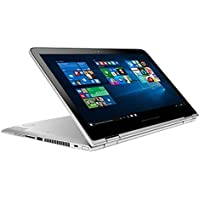 HP Pavilion x360 2-in-1 Convertible 13.3-inch 2016 Edition HD LED IPS Touchscreen Laptop | Intel Core i5-6200U | 8GB Memory | 1TB HDD | HDMI | Bluetooth | Webcam | Windows 10 (Silver)