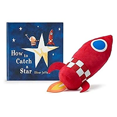 Oliver Jeffers 'How to Catch a Star' Hardcover Book and Red Rocket Plush Gift Set: Baby