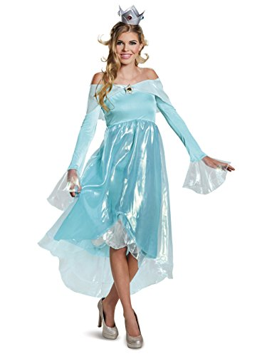 Disguise Women's Rosalina Deluxe Adult Costume, Blue, Large]()