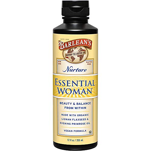 Barlean's Organic Oils, The Essential Woman, 12-Ounce Bottle