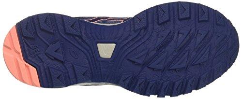 Asics Gel-Sonoma 3, Zapatillas de Running Para Asfalto Para Mujer Azul (Smoke Blue/indigo Blue/begonia Pink 5649)
