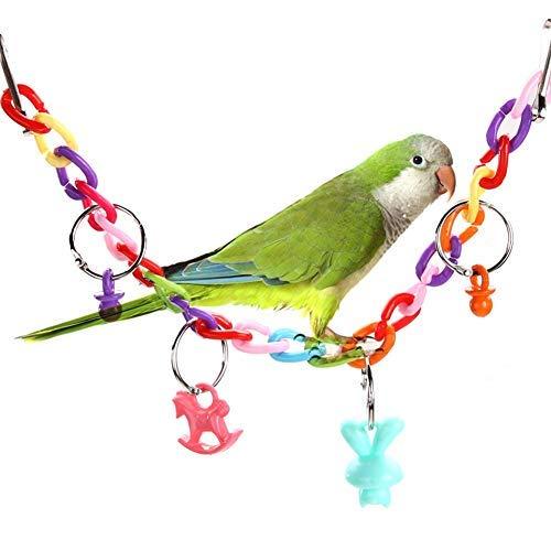 Dottiete Ladder Toy - Bird Toys Acrylic Cage Bridge Swing Ladder Budgie Funny Pet - Jacobs Storage Kids Ota Wwe 4runner
