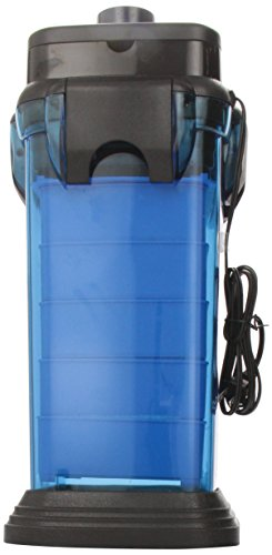 Cascade CCF5UL Canister Filter For Large Aquariums and Fish Tanks - Up To 200 Gallons, Filters 350 GPH from Penn Plax