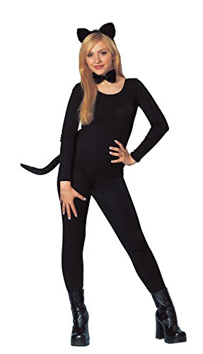 Ladies Black Cat Halloween Costumes (Costume Culture Women's Cat Kit, Black, One Size)