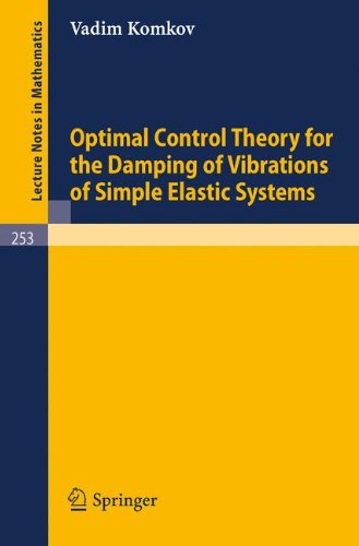 Optimal Control Theory for the Damping of Vibrations of Simple Elastic Systems (Lecture Notes in Mathematics)