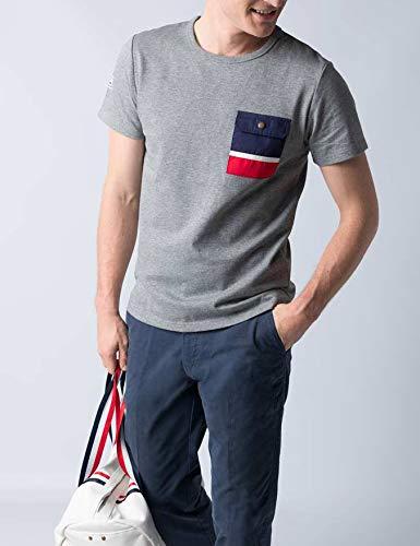 El Ganso 1100s190011 Camiseta, Gris, XL para Hombre: Amazon.es ...