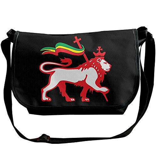 Shoulder Single Messenger Women's Handbag Lion Casual Fashion Black Bag Rasta Bags Rastafarian Designer OqXn6Y