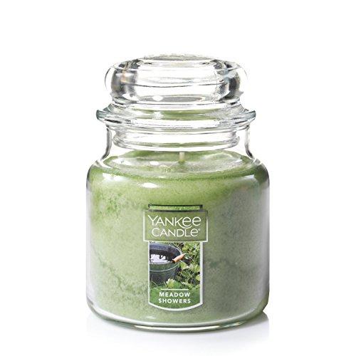 Yankee Candle Medium Jar Candle, Meadow Showers
