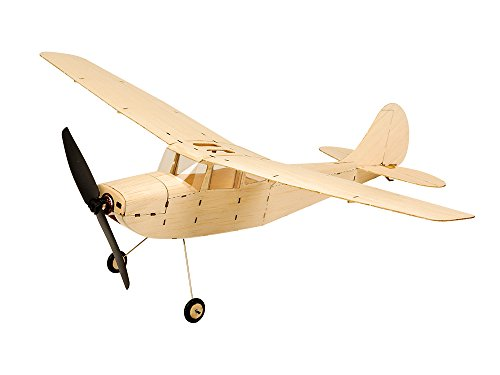 - Mini Balsa Wood Model Airplane Cessna L-19, 445mm Wingspan Laser Cut Flying Model Aircraft Unassembled RC Hobby Kits to Build, DIY Electric Remote Radio Controlled Plane for Indoor Park Fly (KIT Only)