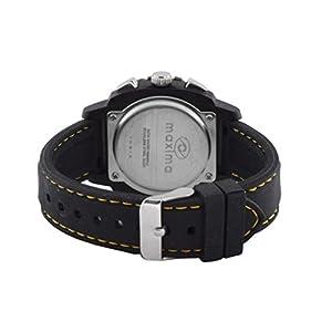 Maxima Hybrid Chronograph Black Dial Men -37450PPGN