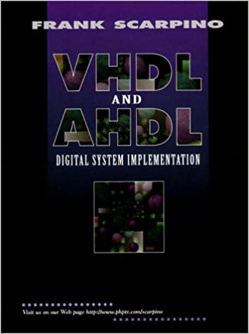Buy VHDL and AHDL Digital System Implementation Book Online