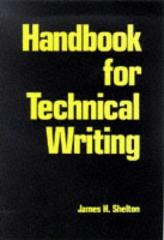 Technical writing service handbook