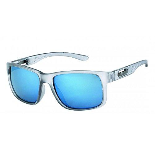 Gris de ajuste Gafas Hombres 400 UV Retro perforado sol Metal de correa H17w7xPqp