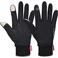 Cevapro Touch Screen Gloves, Winter Warm Gloves Non-Slip Cycling Gloves with Double Fleece Liner for Driving Climbing Hiking Running - Women & Men