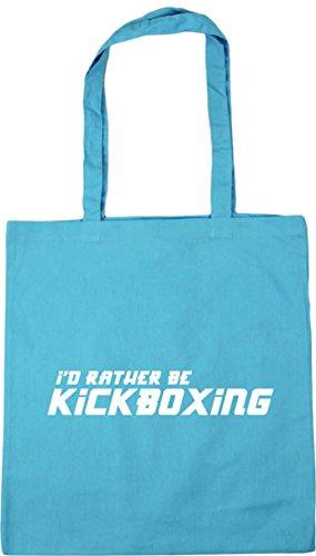 10 Beach litres Rather Surf Gym Tote x38cm Blue 42cm Be Bag I'd Shopping Kickboxing HippoWarehouse wPFa4xAq7