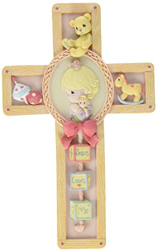 Jesus Loves Me Cross Girl - Precious Moments 701092 -