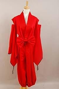 Inuyasha Inu-yasha Cosplay Red Costume (Custom-Made)