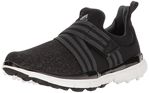 adidas Women's Climacool Knit Golf Shoe, Black, 9.5 M US