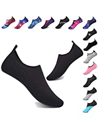 TcIFE Water Shoes Barefoot Quick-Dry Aqua Yoga Socks Slip-on for Men Women Kids