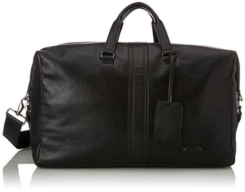 BREE Gordon 4, Black, Weekender - Borse a spalla Uomo, Schwarz (Black), 25x29x45 cm (B x H T)