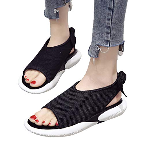 cfb4f475b75 Best Woman Shoes On Sale Casual!melupa Summer Ladies Flat Bottom Shoes Wild  Thick Bottom Casual Fish Mouth Sport Sandals